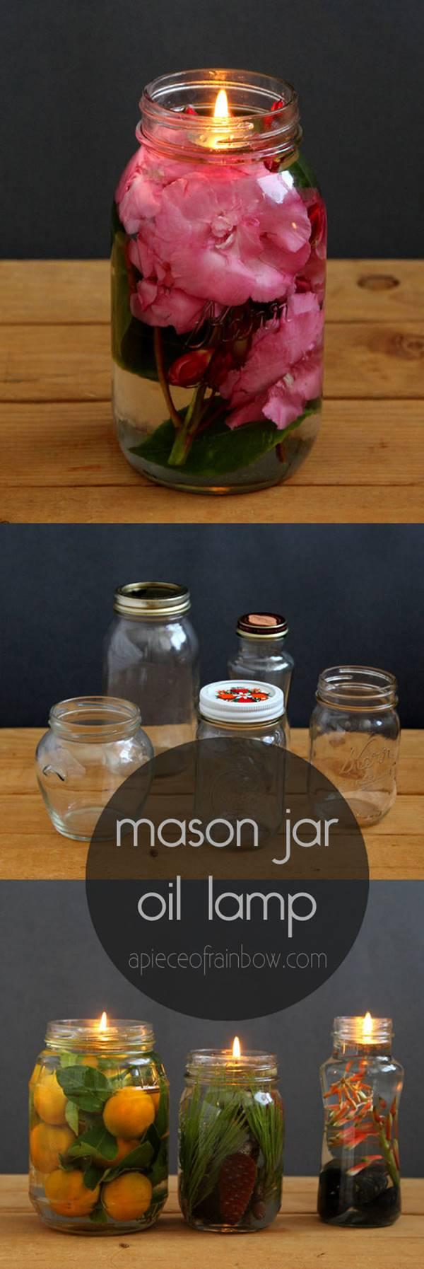 Creative Ideas Diy Magical Mason Jar Oil Lamp I Creative
