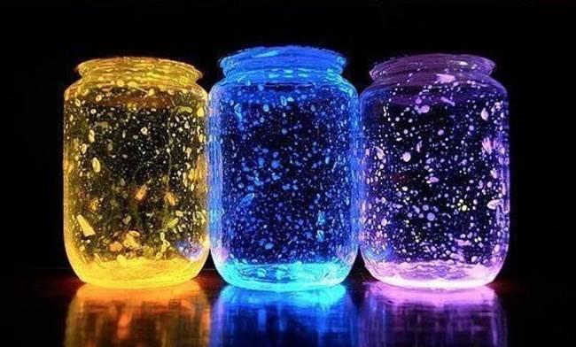 Creative Ideas Diy Glow Stick Galaxy Glow In The Dark