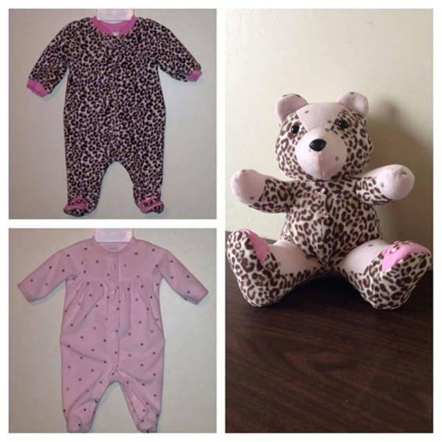 Make Baby Clothes Into Teddy