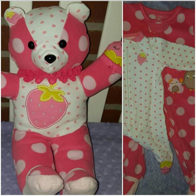 Creative Ideas - Turn Outgrown Baby Clothes Into Keepsake Teddy Bears