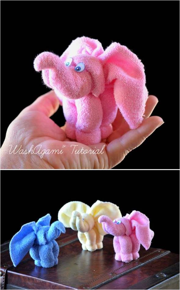 creative ideas diy towel elephant icreativeideascom