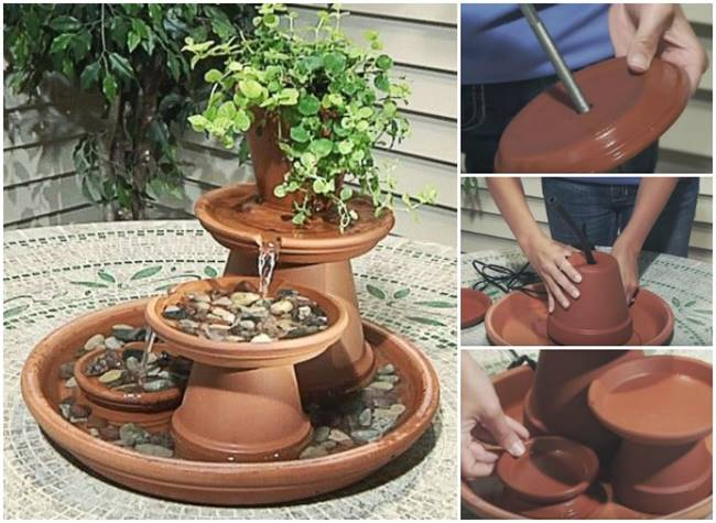 Creative Ideas - How To Build A Terracotta Fountain