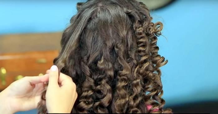 Creative Ideas – How to Make No Heat Hair Curls Using Paper Towel