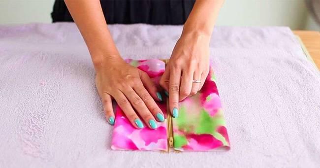 Creative Ideas - DIY Easy Pencil Case and Makeup Bag