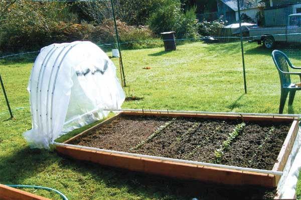 Retractable PVC Hoop House