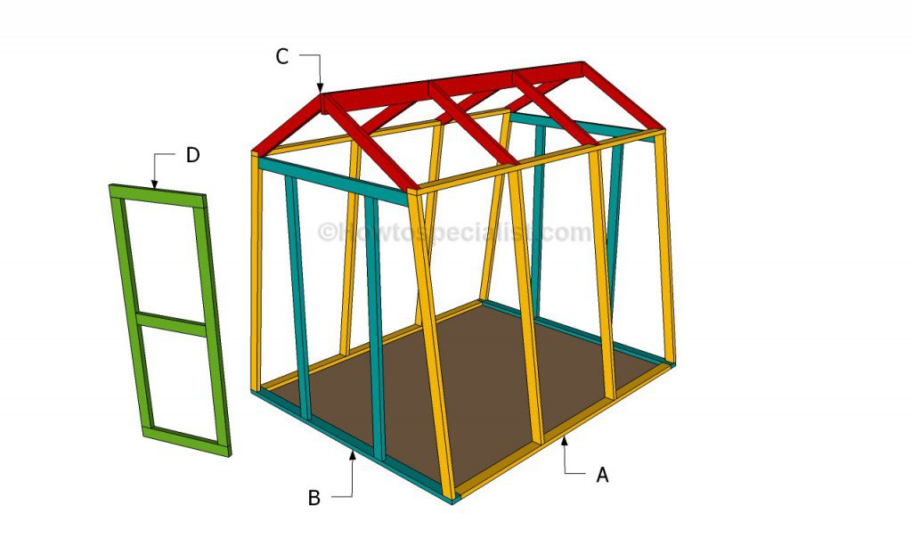 How to Build a Small Lumber Framed Greenhouse