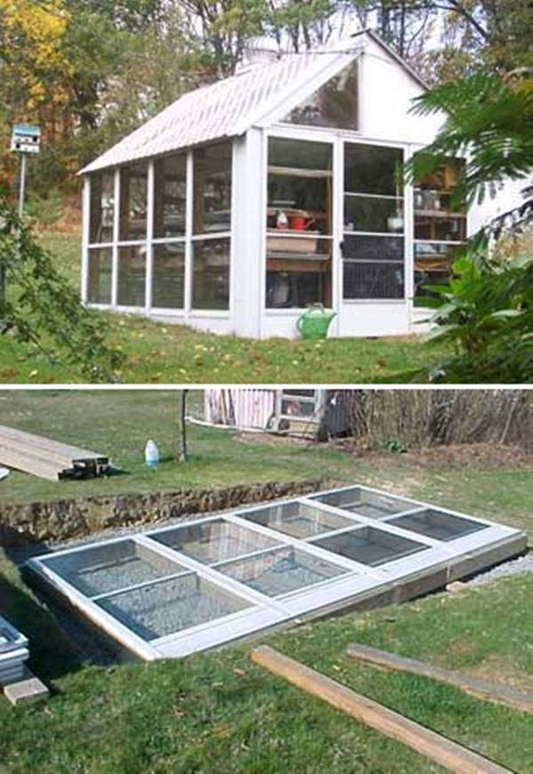 How to Build a Greenhouse from Used Windows or Storm Doors