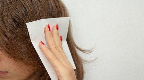 Use a fresh dryer sheet on hair to smoothen out flyaways and control hair static