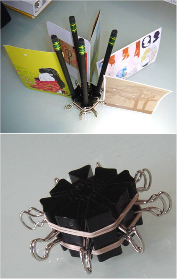 DIY Pimped-Out Pencil and Photo Holder