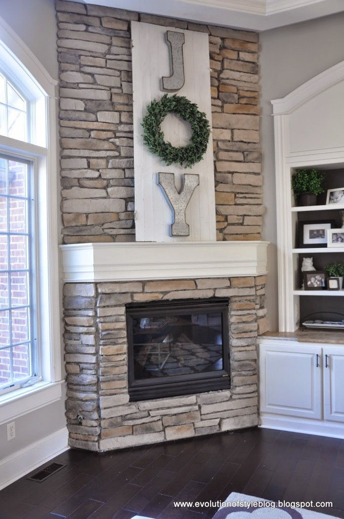 A High Impact And Low Budget Holiday Mantel