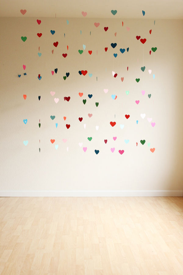 How to Make a Floating Heart Backdrop