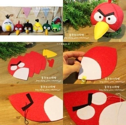 DIY Angry Bird Doll thumb