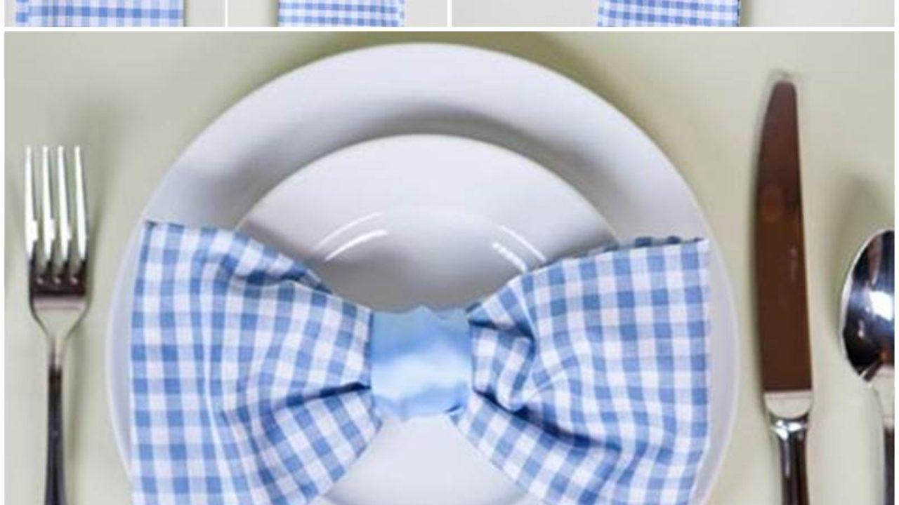 Elegant Bow Tie Napkin