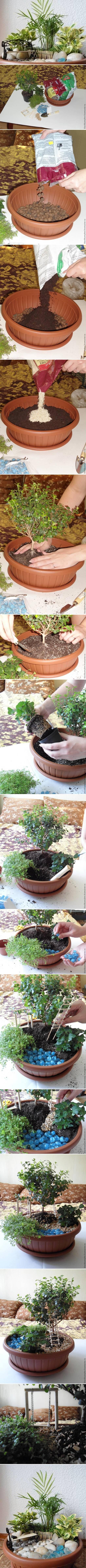 DIY Pot Mini Garden