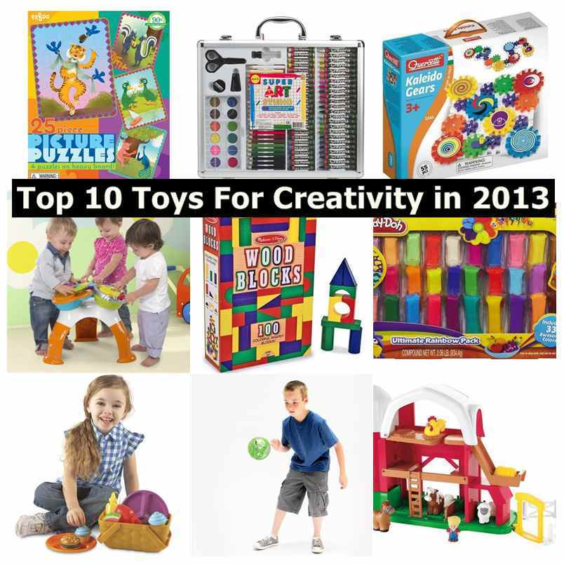 Top 10 Toys For Creativity in 2013 by Parents Magazine