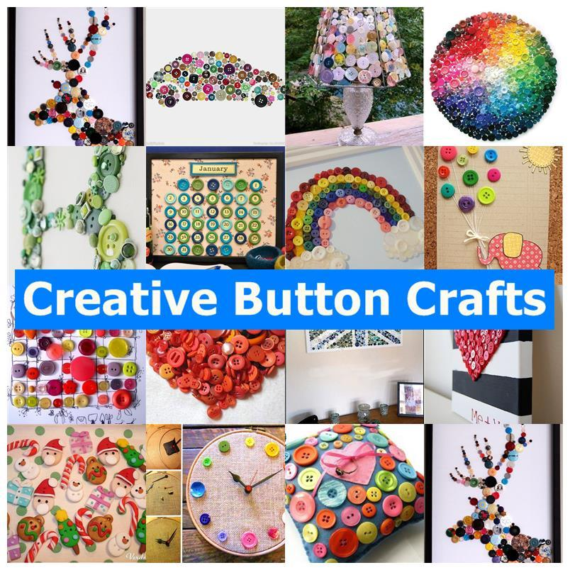 20 Creative Must See Wedding Ideas For Kids: Creative Button Crafts