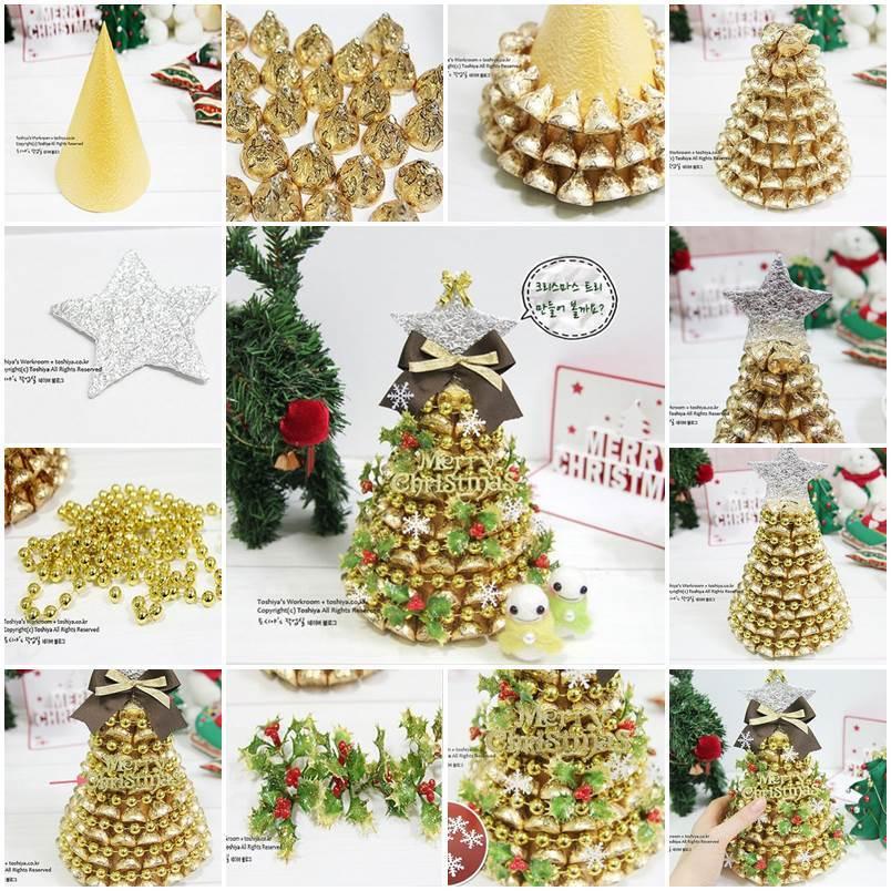 Ideas For Christmas Gift Baskets: DIY Chocolate Christmas Tree