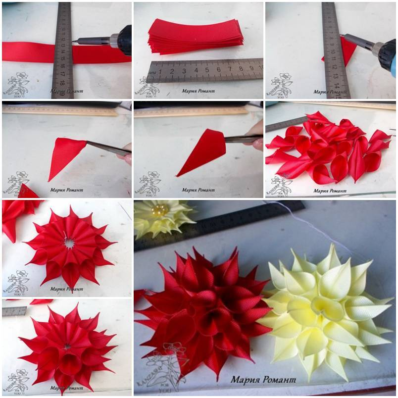 Wedding diy dahlia flowers decoration for Flower decoration made of paper