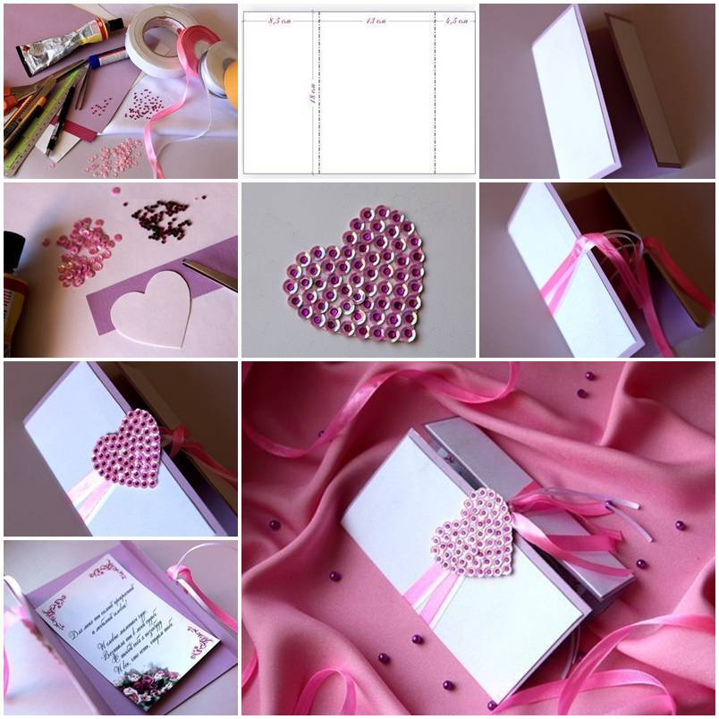 Diy Heart Valentine S Day Card
