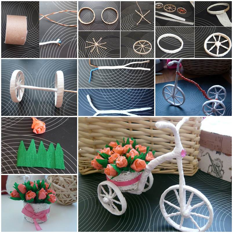 Bicycle Basket Children Bike Tricycle Scooter Supplies