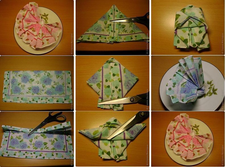 Diy Butterfly Napkin Fold
