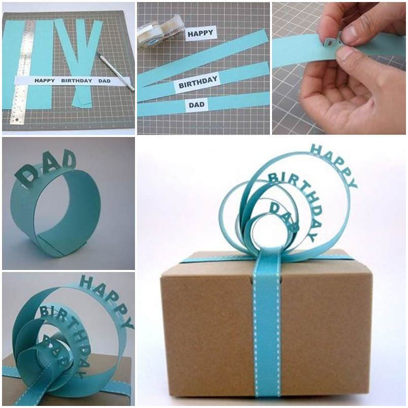 DIY Creative 3D Gift Packaging