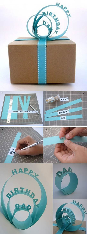 DIY Creative 3D Gift Packaging 2