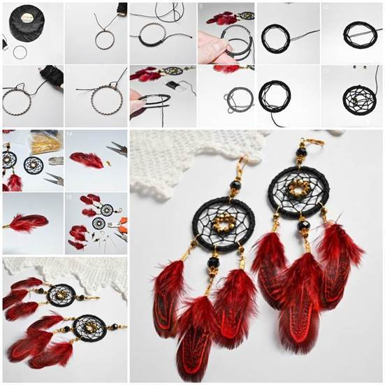 DIY Dream Catcher Earrings Best How To Build A Dream Catcher