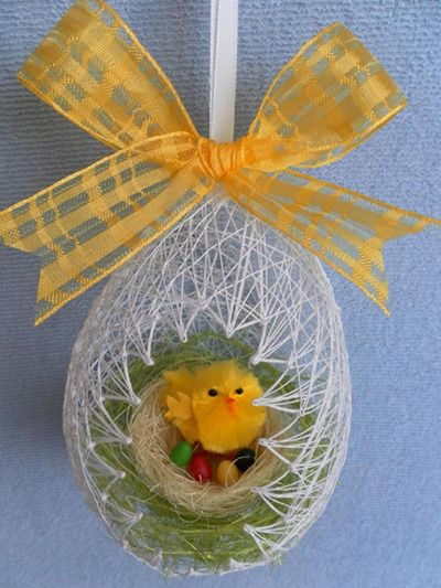 DIY Easter Egg Basket from Thread 13