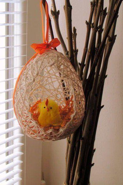 DIY Easter Egg Basket from Thread 15