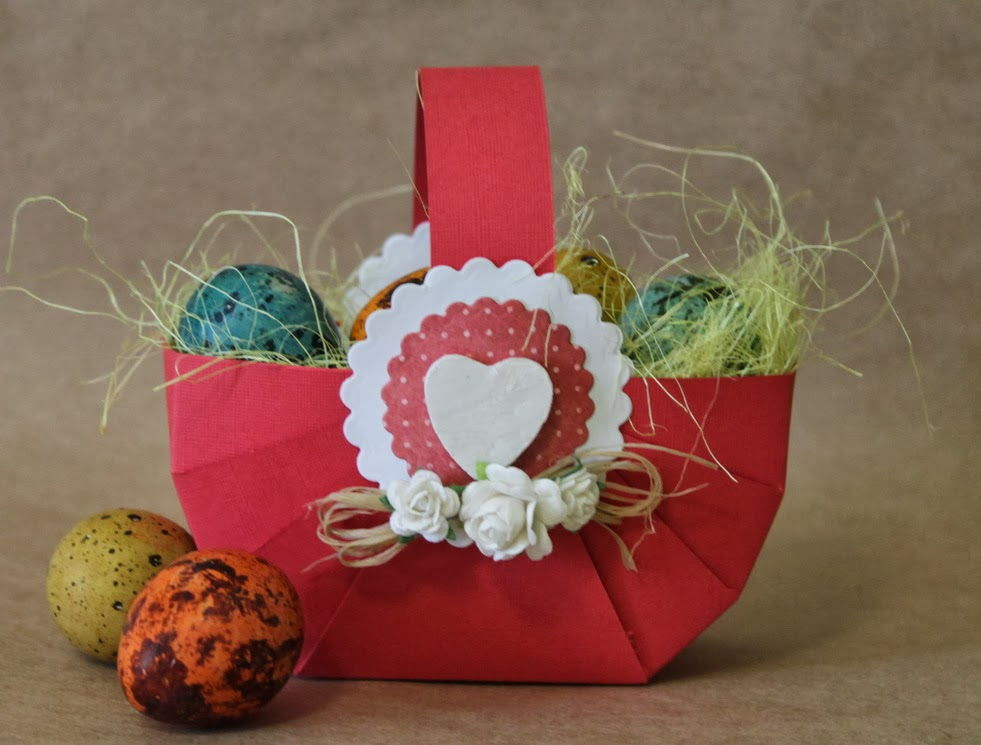How To Make A Woven Easter Basket : Diy easy cardboard easter basket