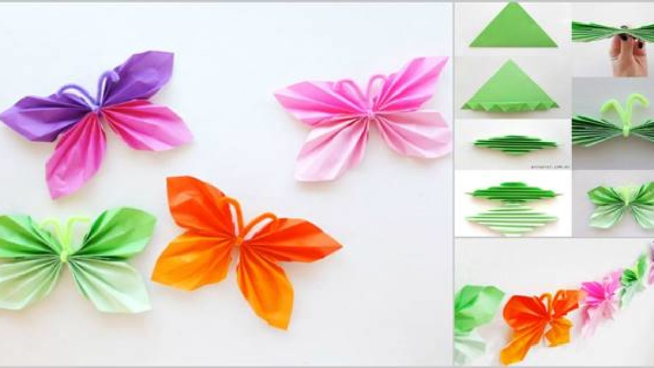 How to Make an Easy Origami Butterfly | 720x1280