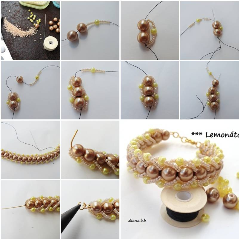 Diy Elegant Beads Bracelet