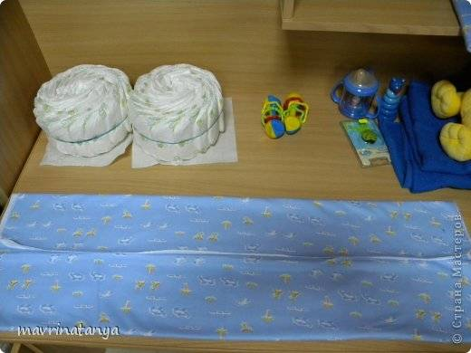 DIY Hippo on the Bike Diaper Gift Step 5