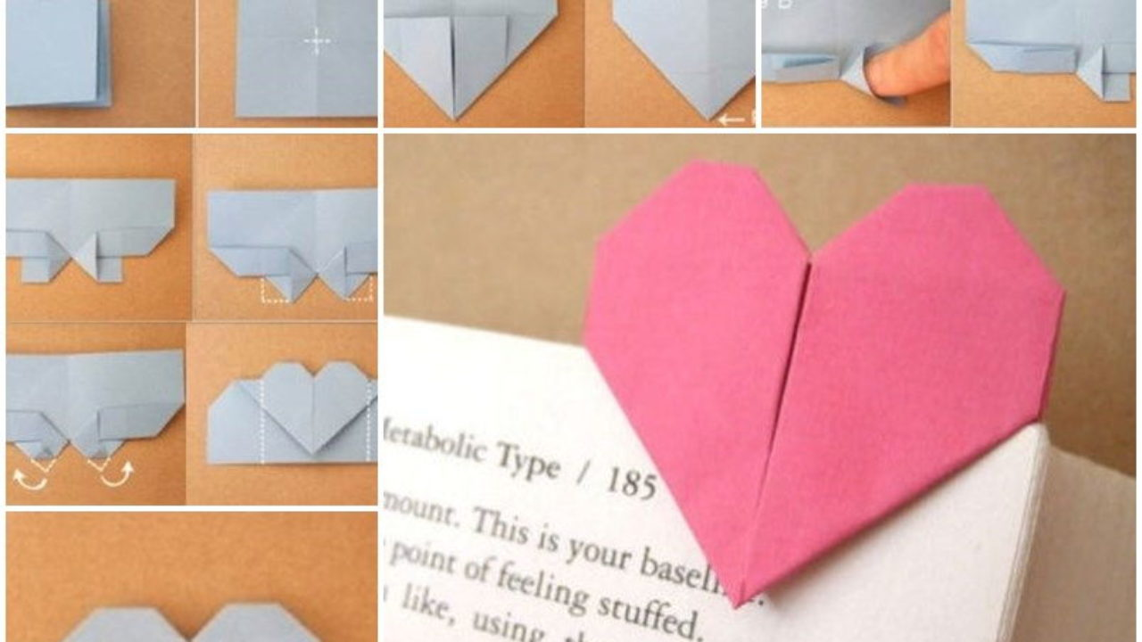 Tutorial #129: Origami Heart Box | The Idea King | 720x1280