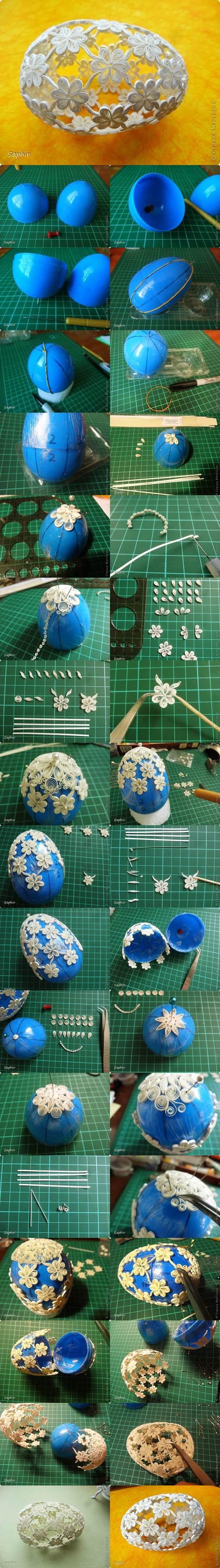DIY Quilling Easter Egg