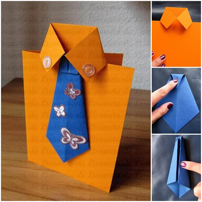 Diy Tie And Shirt Greeting Card on design your own home