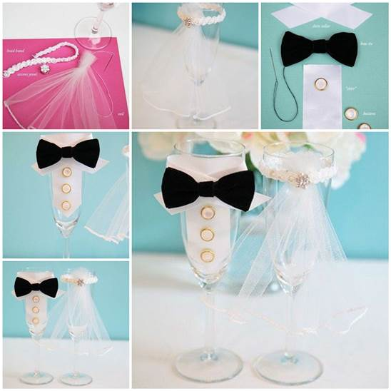Diy Wedding Gifts For Bride And Groom: Bride And Groom Decorative Costumes For