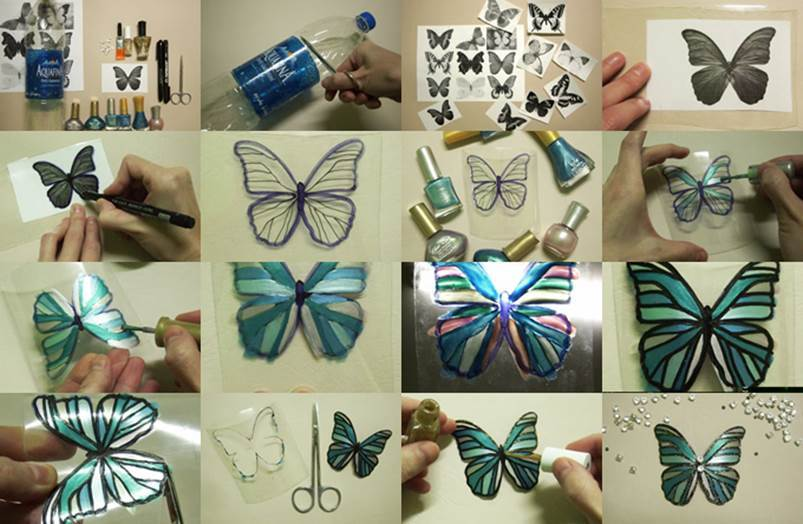 DIY Beautiful Butterfly from Plastic Bottle