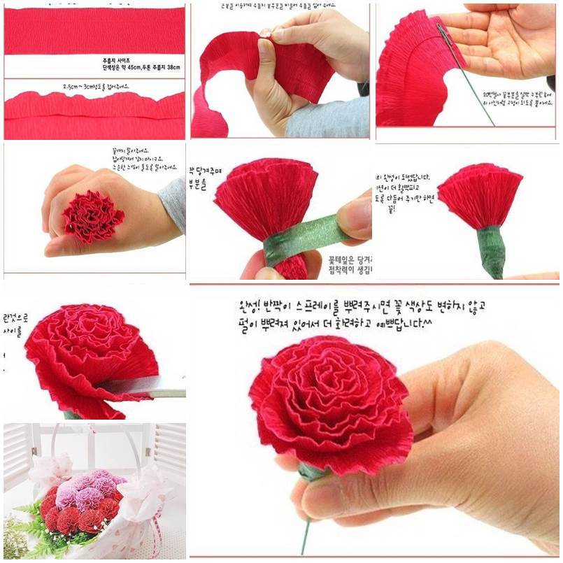 Tissue paper flower video yolarnetonic tissue paper flower video mightylinksfo