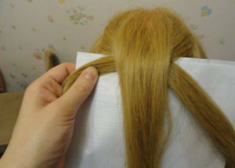 Diy Braided Chain Pigtail Hairstyle