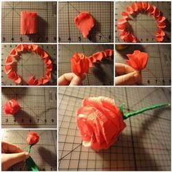 DIY-Easy-Crepe-Paper-Rose-3