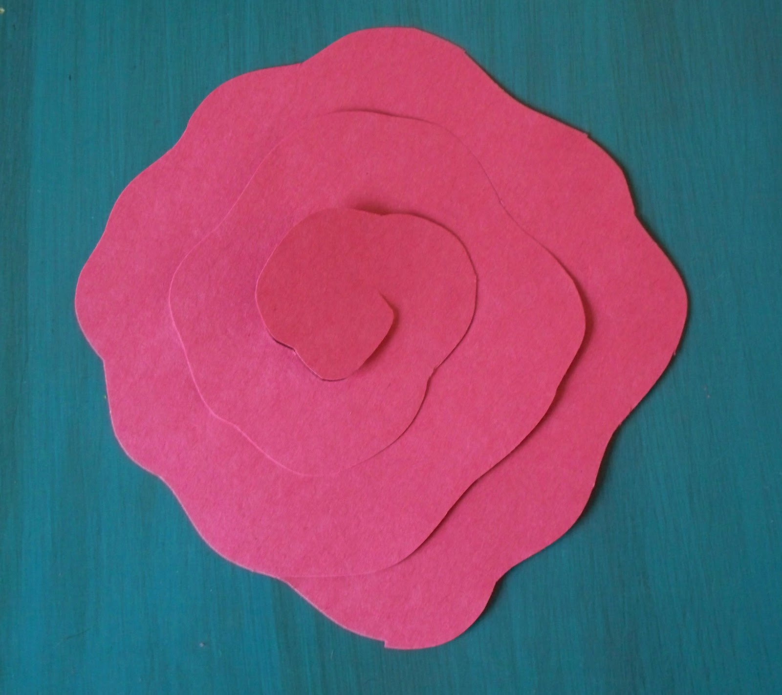 DIY Easy Paper Rose - photo#50