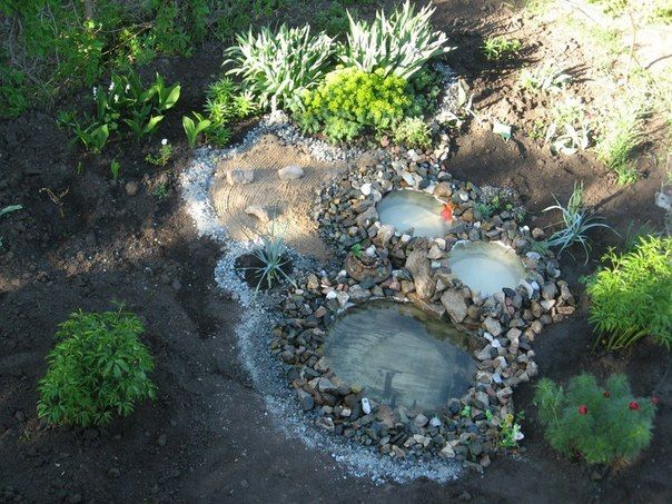 Diy Garden Ponds From Old Tires