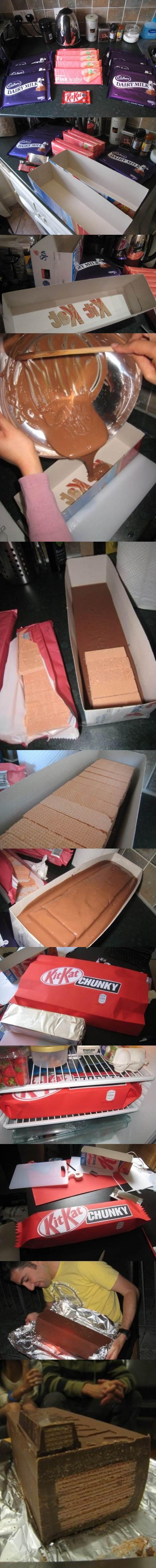 DIY Giant KitKat 2