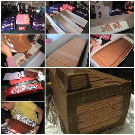 DIY Giant KitKat 3