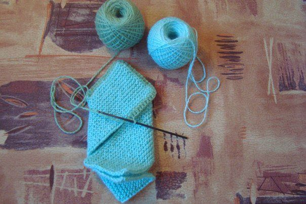 Diy Pretty Knitted Home Slippers