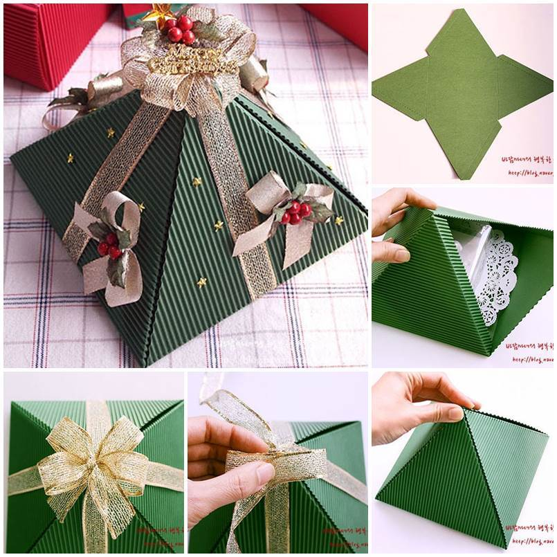 Diy Pyramid Gift Box