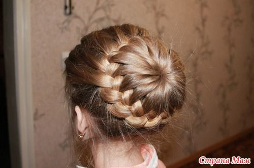 DIY Unique Braided Bun Hairstyle 12