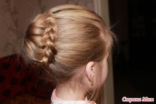 DIY Unique Braided Bun Hairstyle 13